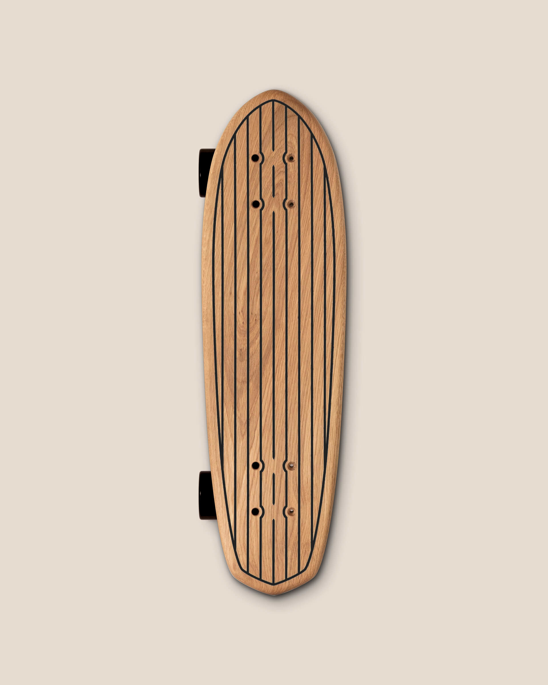 Mini Cruiser Retro Californien LUAP